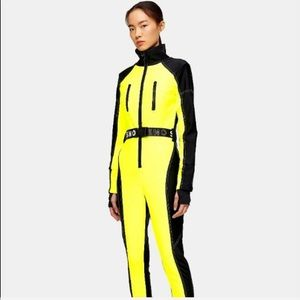Topshop SNO Yellow Fitted Ski Snow Suit 6